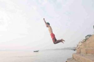 飛び込み写真