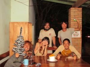 イグアス居住地・ペンション園田、イブの晩餐 (1)